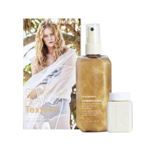 Kevin Murphy Spray&Play Texture - Kevin Murphy Shimmer Shine 100ml+ Hair Resort 40ml gratis