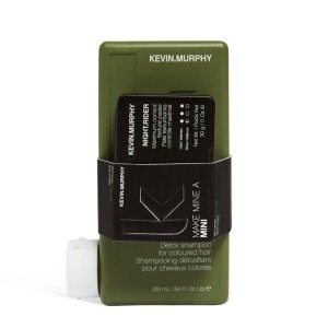 Kevin Murphy Make Mine A Mini: Maxi & Night - zestaw szampon Maxi Wash + pasta Night Rider