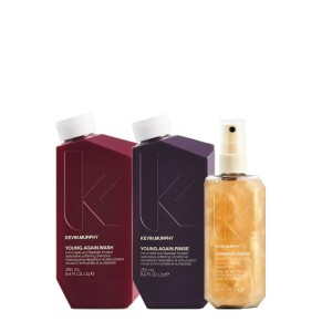 Kevin Murphy Forever Shimmer - zestaw kosmetyków Young.Again