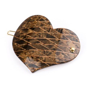 Turtle Story Spinka Classic Heart Brown